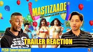 Download Mastizaade Trailer Reaction | PESH Entertainment Video