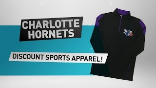 Download Charlotte Hornets Discount Sports Apparel // NBA merchandise Video