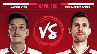 Download DRAKE, BEN AFFLECK AND MUSTAFI | Ozil vs Mertesacker Rapid Fire Video