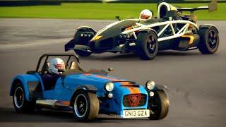 Download Caterham 620R vs. Ariel Atom 3.5R - Fifth Gear Video