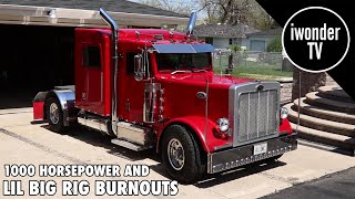 Download The Smallest Mini Truck You'll Ever See Doing Big Burnouts | Custom Lil Big Rig Video