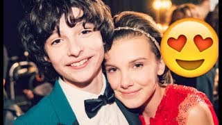 Download Millie Bobby Brown and Finn Wolfhard 😍😍😍- CUTE AND FUNNY MOMENTS (Stranger Things 2017) #2 Video