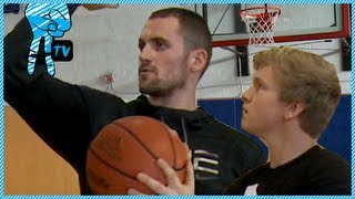 Download How to Shoot a 3-Pointer with NBA Pro Kevin Love - How To Be Awesome Ep. 14 Video
