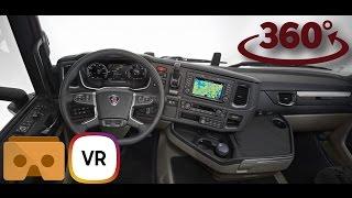 Download Scania S 500 VR 360 Interior 4K Video