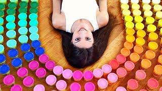 Download 200 PLAY-DOHs, 1 SCULPTURE - PlayDoh Art Challenge // SoCraftastic x GoldieBlox Video