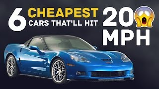 Download The 6 Cheapest Stock Cars That'll Hit 200mph Video