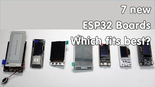Download #201 New ESP32 Boards with Displays Video