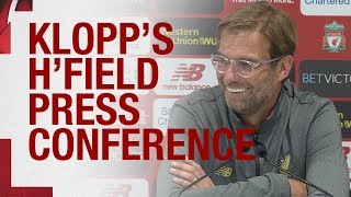 Download Jürgen Klopp's pre-Huddersfield press conference Video
