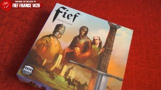 Download Fief Board Game Video Review Video