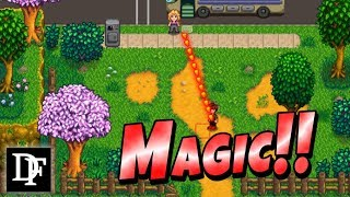 Download Become A Wizard In Stardew Valley! Magic Mod! Video