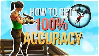 Download HOW TO WIN | 100% Shooting Accuracy Update (Fortnite Battle Royale) Video