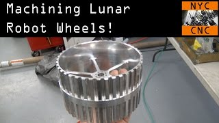 Download CNC Machined Robot Lunar Wheels! Widget84 Video