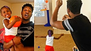 Download DADDY VS DAUGHTER INDOOR BASKETBALL SHOOTOUT! 😱😂 Video