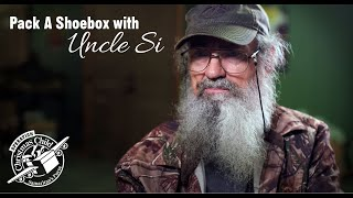 Download Pack A Shoebox with Uncle Si Video