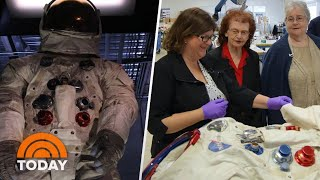 Download The Story Of Neil Armstrong's Spacesuit, Told By The Women Who Made It | TODAY Video