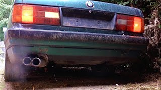 Download First start of my BMW e30 320i cabriolet after 5 years Stood Still Video