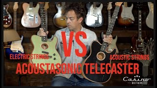 Download Should you switch your Acoustasonic to Electric Strings? Video