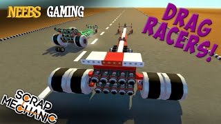 Download Scrap Mechanic - Drag Racers! Video