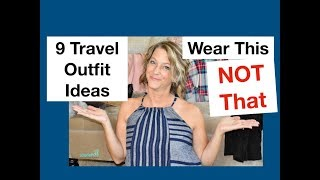 Download 9 Travel Outfit Ideas (Wear This Not That) Video