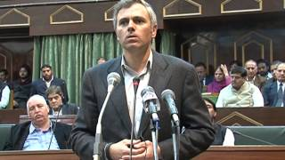 Download Omar Abdullah's emotional Speech in the Assembly on the death of a young boy in Baramulla Video