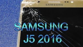 Download Wymiana stłuczonej szybki Samsung J5 2016 Exchange of broken glass Video