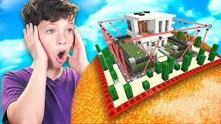 Download MINECRAFT CAN YOU BEAT my LITTLE BROTHER'S IMPOSSIBLE HOUSE...? *DO NOT TRY* Video