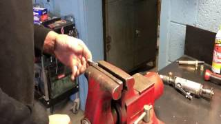 Download Easily repair a cross threaded hole without a tap! Video