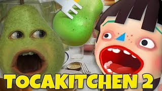 Download Pear FORCED to Play - TOCA KITCHEN! Video
