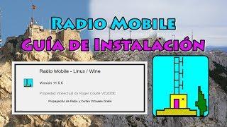 Download Instalación de Radio Mobile en Español Video