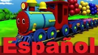 Download El tren de colores | Canciones infantiles | LittleBabyBum Video