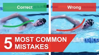 Download FREESTYLE SWIMMING: 5 MOST COMMON MISTAKES (2019) Video