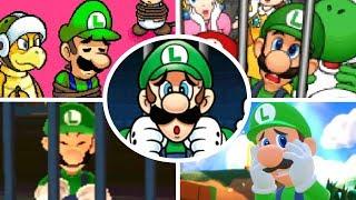 Download Evolution of Luigi Being Rescued (1995-2018) Video