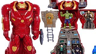 Download Marvel Avengers Infinity War Hulkbuster Ultimate HQ transform! Defeat the Thanos! - DuDuPopTOY Video