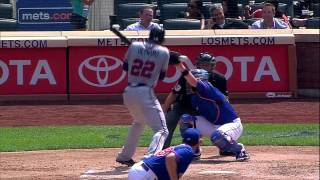 Download 2013/08/21 Heyward hit in face, exits game Video