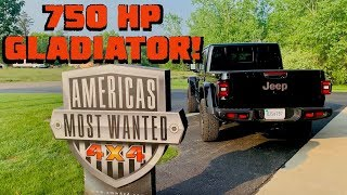 Download 750 HORSEPOWER GLADIATOR?! Swapping a Hellcat into a 2020 Jeep JT! Video
