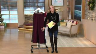 Download Denim & Co. Active Fleece Pants with Pockets on QVC Video