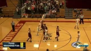 Download Menomonee Falls VS Fond du Lac Basketball Video