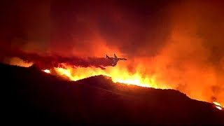 Download California's Holy Fire prompts state of emergency Video