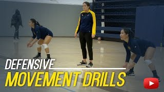 Download Volleyball Defensive Movement Drills - Coach Ashlie Hain Video