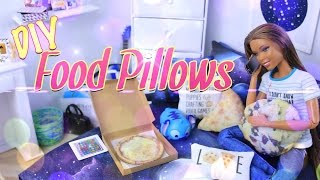 Download DIY - How to Make: Pinterest Craft Food Pillows - Dollhouse Accessories - Doll Crafts - 4K Video