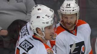Download Simmonds, Schenn scored power play goals to help Flyers edge Canucks Video