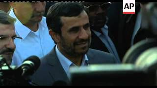 Download Castro bids Ahmadinejad farewell at airport, comments from both Video
