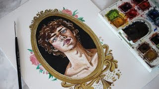 Download finding my art style // watercolour real time process Video