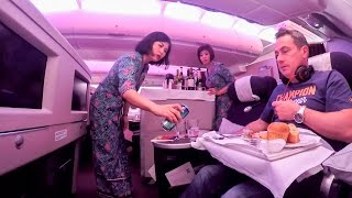 Download Malaysia Airlines Business Class A380 & A330 retro-fit Auckland to Heathrow Video