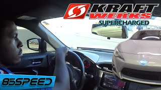 Download Boosted Supercharged FRS - Kraftwerks C30 Ride Along Video