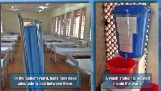 Download Before and After: Ebola Isolation Ward Makes Improvements Video