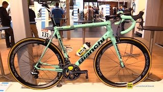 Download 2015 Bianchi Specialissima Lotto Jumbo Team Race Bike - Walkaround - Shimano Stand 2015 Eurobike Video