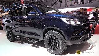 Download 2019 Ssang Yong Musso - Exterior and Interior Walkaround - 2018 Geneva Motor Show Video