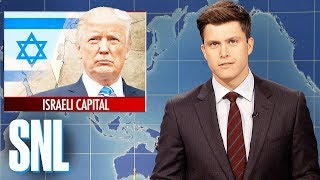 Download Weekend Update on Trump Recognizing Jerusalem as Israeli Capital - SNL Video