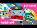 Download Five Little Buses Jumping on the Road | Bus Songs | Car Songs | PINKFONG Songs Video